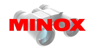 logo prismáticos minox