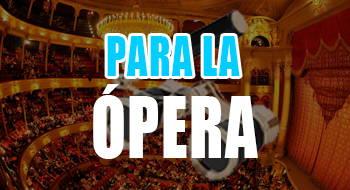 prismáticos para la ópera