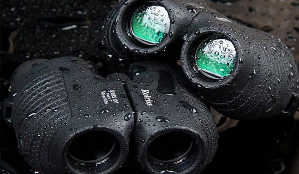 prismáticos resistentes al agua