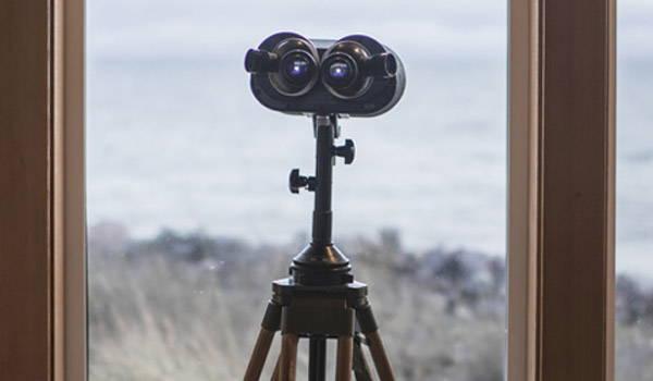 trípode prismáticos