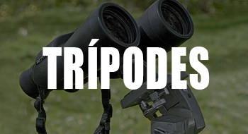trípodes para prismáticos